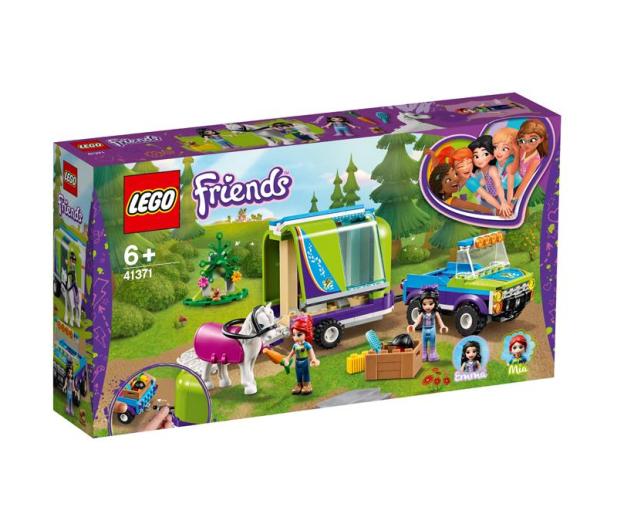 LEGO Friends Przyczepa dla konia Mii - 496123 - zdjęcie