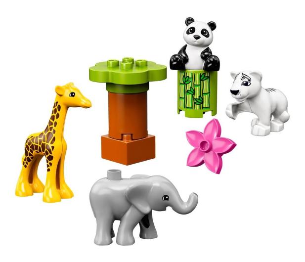 LEGO DUPLO Małe Zwierzątka - 496093 - zdjęcie 2