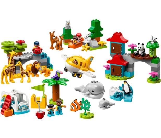 LEGO DUPLO Zwierzęta świata - 496097 - zdjęcie 2