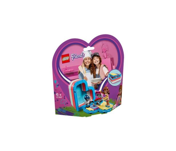 LEGO  Friends Pudełko przyjaźni Olivii - 496160 - zdjęcie