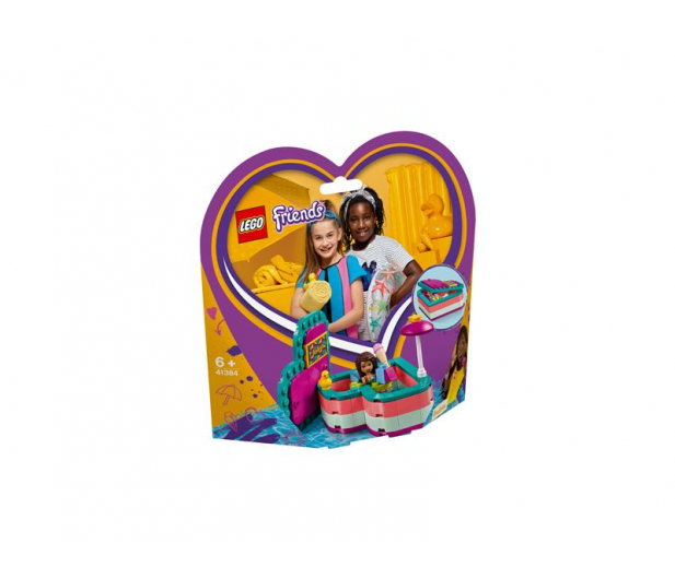 LEGO  Friends Pudełko przyjaźni Andrei - 496154 - zdjęcie