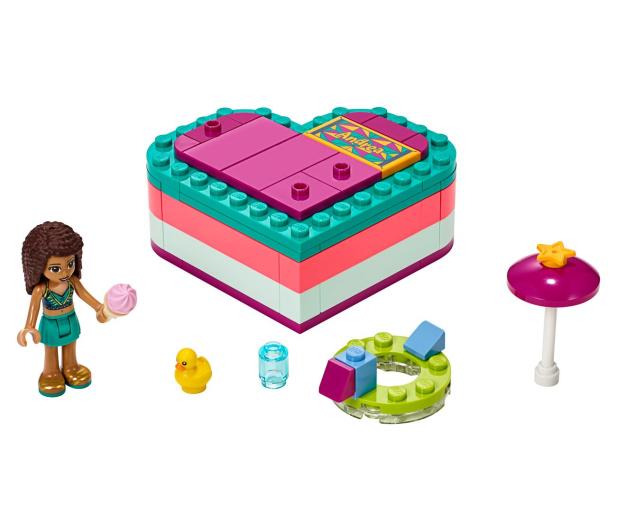 LEGO  Friends Pudełko przyjaźni Andrei - 496154 - zdjęcie 2