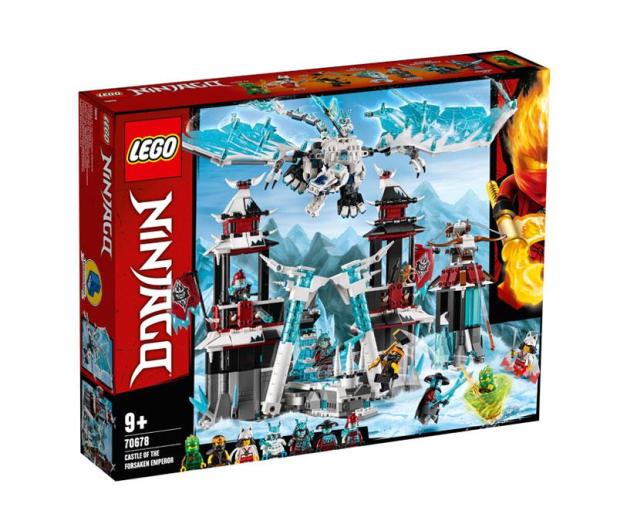 LEGO Ninjago Zamek Zapomnianego Cesarza - 496208 - zdjęcie