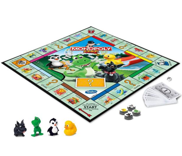 Hasbro Monopoly Junior wersja 2019 - 175891 - zdjęcie 4