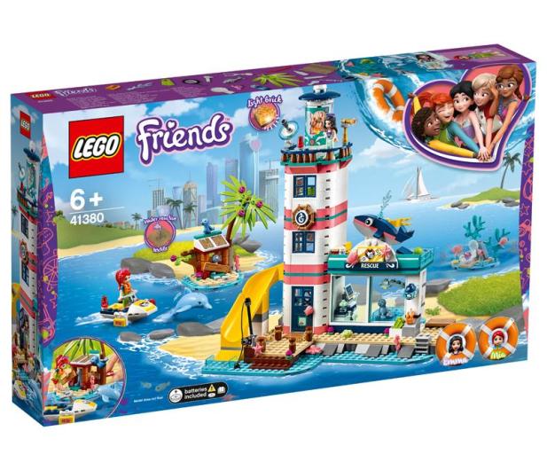 LEGO  Friends Centrum ratunkowe w latarni morskiej - 496142 - zdjęcie