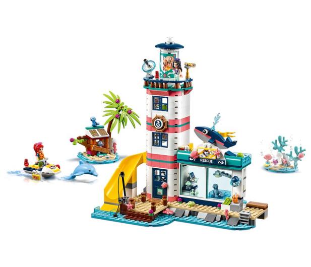 LEGO  Friends Centrum ratunkowe w latarni morskiej - 496142 - zdjęcie 3