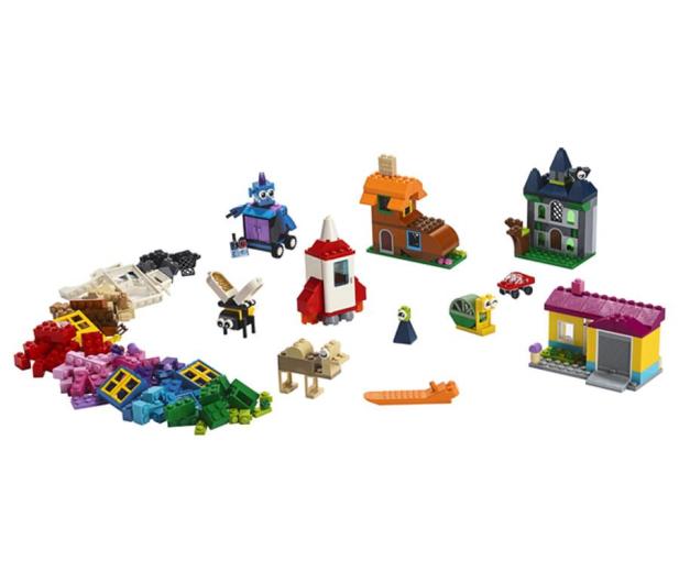 LEGO Classic Pomysłowe okienka - 496098 - zdjęcie 2