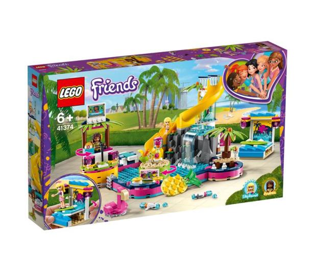 LEGO Friends Impreza Andrei na basenie  - 496128 - zdjęcie