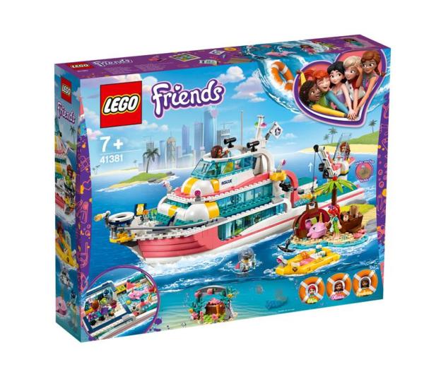 LEGO Friends Łódź ratunkowa - 496145 - zdjęcie