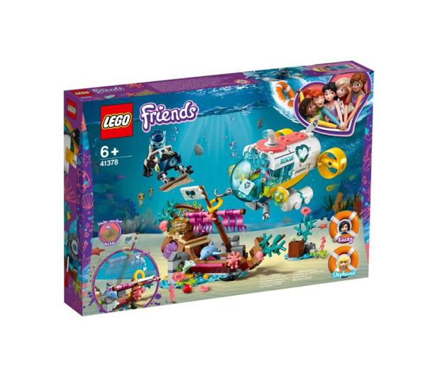 LEGO  Friends Na ratunek delfinom - 496135 - zdjęcie