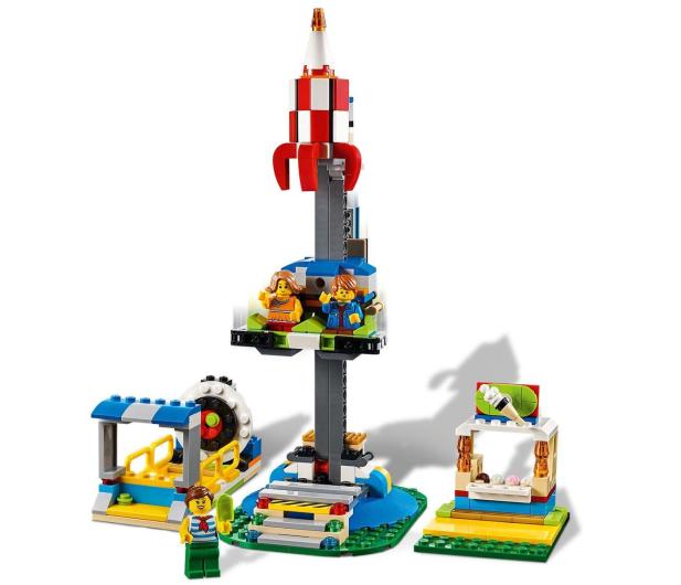 LEGO Creator Karuzela w wesołym miasteczku - 496102 - zdjęcie 3