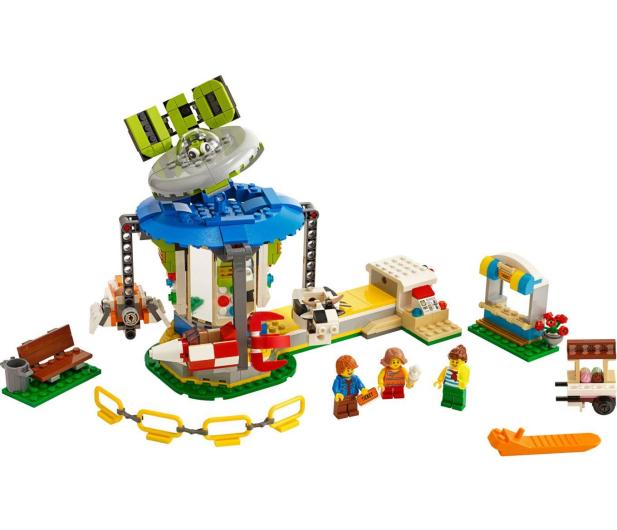 LEGO Creator Karuzela w wesołym miasteczku - 496102 - zdjęcie 4