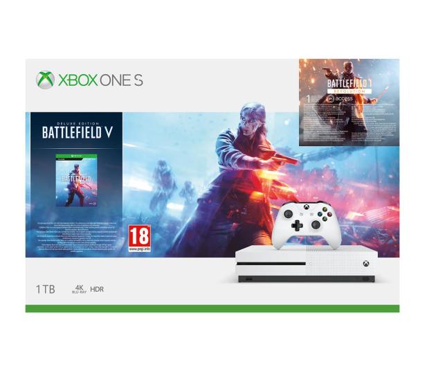 Microsoft Xbox One S 1TB + BFV + BF 1942 + EA Access - 487399 - zdjęcie 12