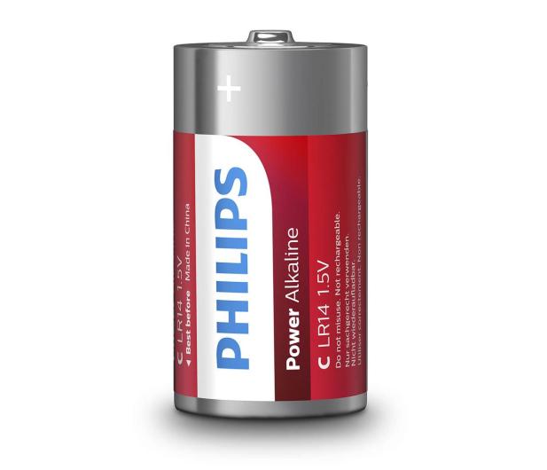 Philips Power Alkaline C LR14 (2szt) - 489645 - zdjęcie 2