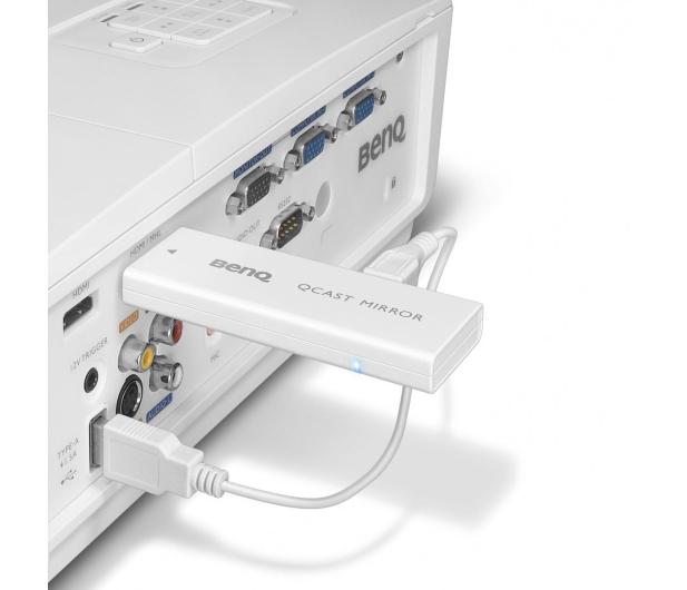 BenQ Bezprzewodowy transmiter QCAST biały - 499119 - zdjęcie 8