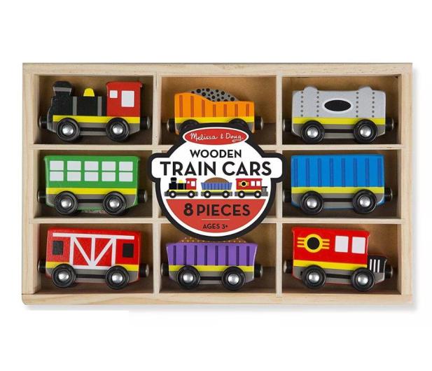 Melissa & Doug Zestaw wagoników Train Cars - 500648 - zdjęcie