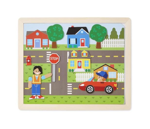 Melissa & Doug Magnetyczna gra obrazkowa Miasto - 500775 - zdjęcie 3