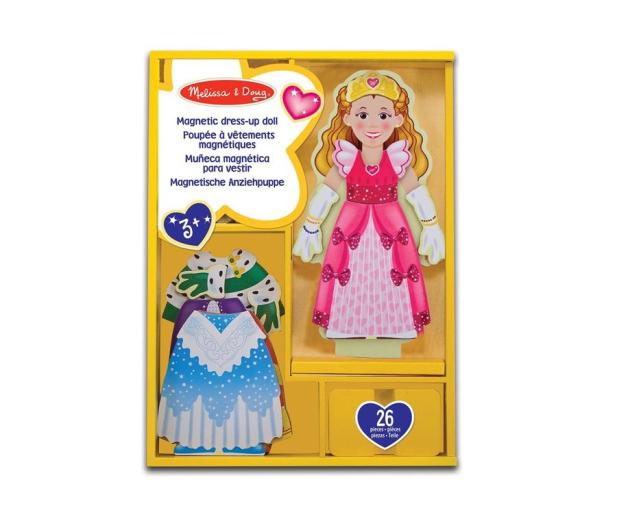 Melissa & Doug Magnetyczna ubieranka Księżniczka - 500561 - zdjęcie