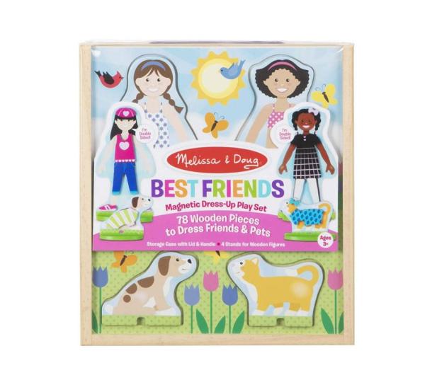 Melissa & Doug Puzzle magnetyczne Przyjaciele - 500716 - zdjęcie