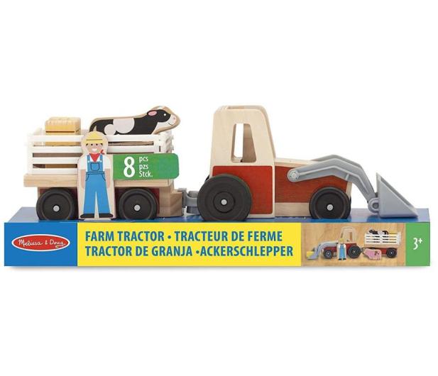 Melissa & Doug Drewniany traktor Farm - 500742 - zdjęcie 2