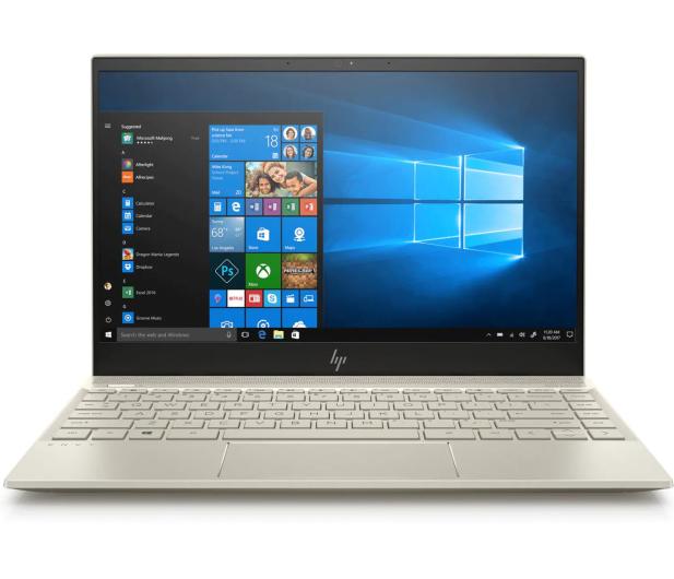 HP Envy 13 i5-8265/8GB/256/Win10 Gold - 501871 - zdjęcie 3