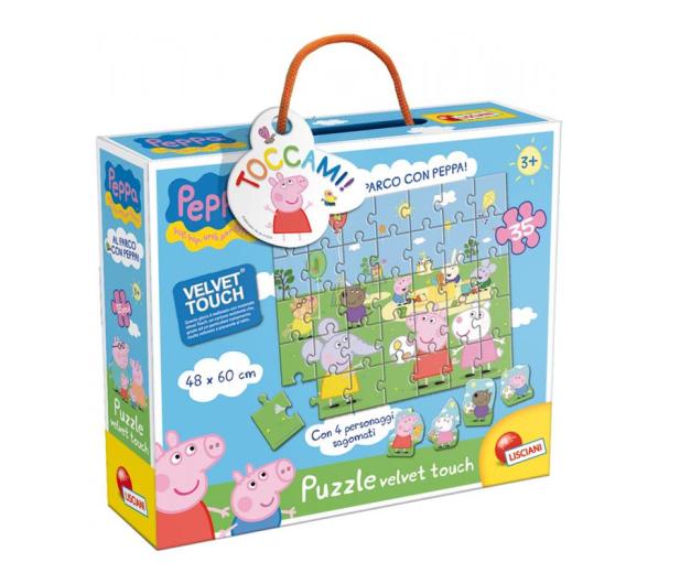 Lisciani Giochi Świnka Peppa Miękkie puzzle - 501954 - zdjęcie