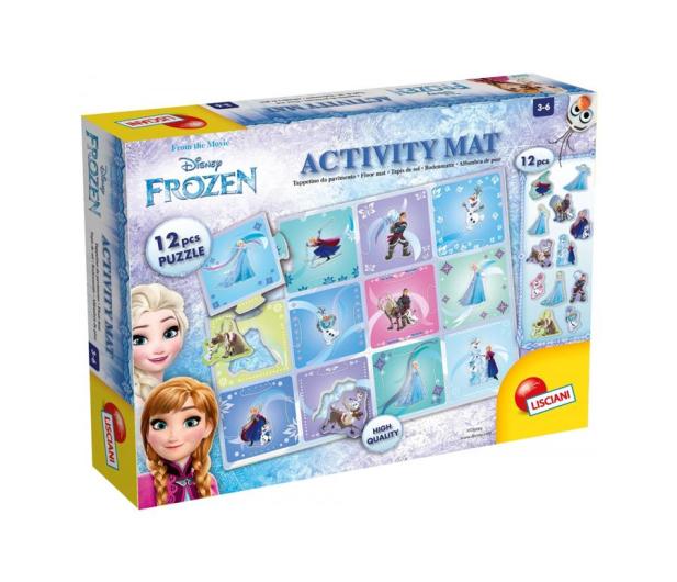 Lisciani Giochi Frozen Activity mata puzzle - 502152 - zdjęcie