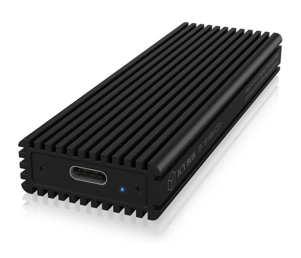 ICY BOX Obudowa do dysku M.2 NVMe (USB-C, M-Key) - 499604 - zdjęcie