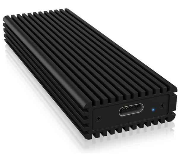 ICY BOX Obudowa do dysku M.2 NVMe (USB-C, M-Key) - 499604 - zdjęcie 2