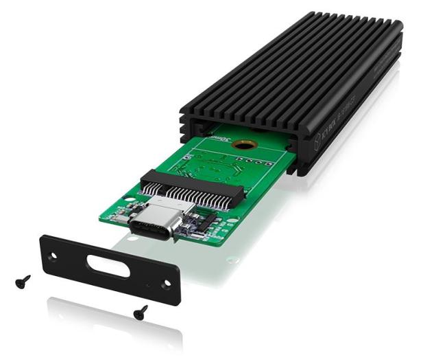 ICY BOX Obudowa do dysku M.2 NVMe (USB-C, M-Key) - 499604 - zdjęcie 4