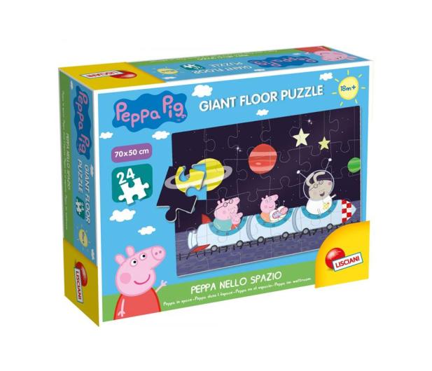 Lisciani Giochi Świnak Peppa puzzle w kosmosie - 502164 - zdjęcie