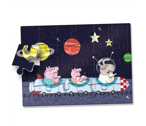 Lisciani Giochi Świnak Peppa puzzle w kosmosie - 502164 - zdjęcie 2
