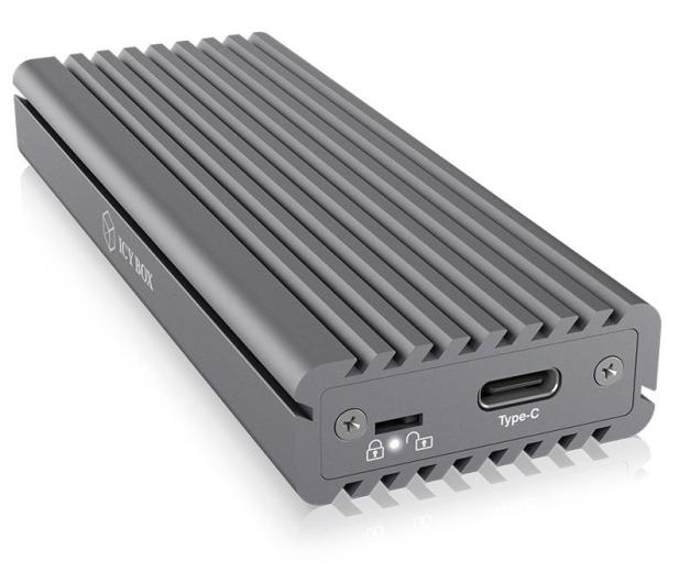 ICY BOX Obudowa do dysku M.2 NVMe (USB-C, M-Key) - 499605 - zdjęcie 2