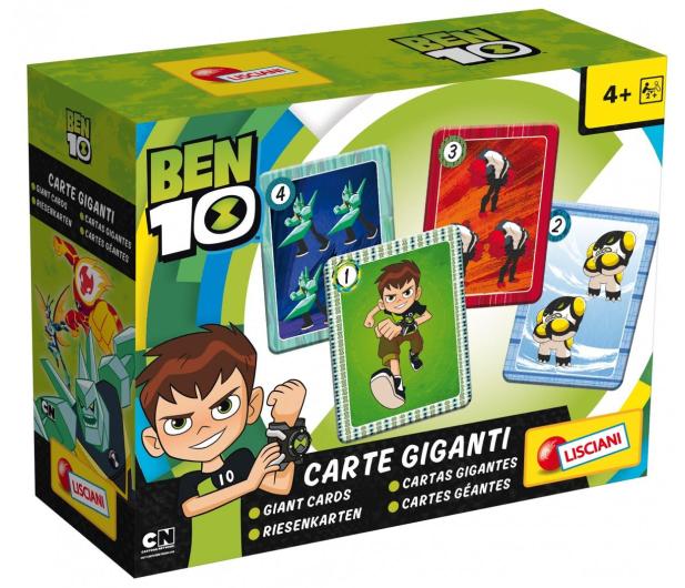 Lisciani Giochi Ben 10 Gigantyczne karty - 502097 - zdjęcie 3