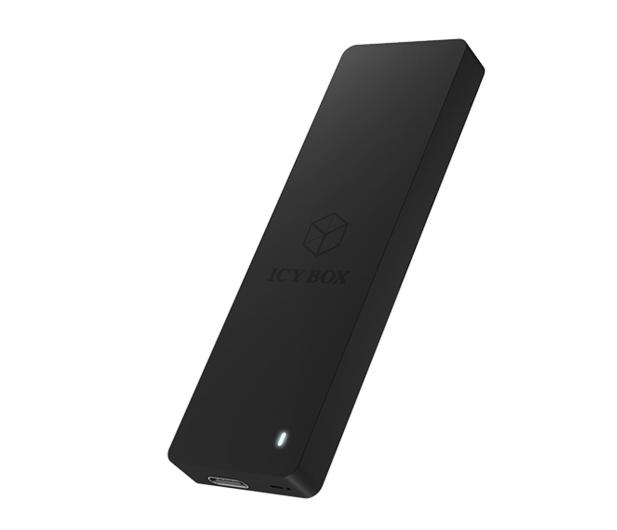 ICY BOX Obudowa do dysku M.2 SATA (USB-C, B lub B+M Key) - 499603 - zdjęcie