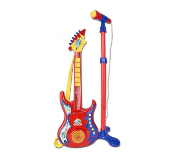 Bontempi Gitara rockowa z mikrofonem - 502313 - zdjęcie