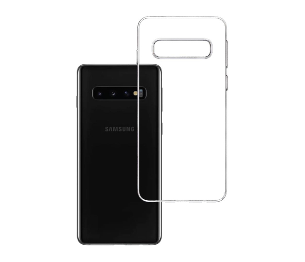 3mk Clear Case do Samsung Galaxy S10  - 500021 - zdjęcie