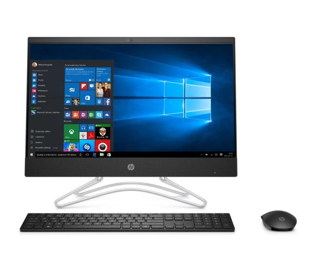 HP 22 AiO i3-8130/8GB/256+1TB/Win10 IPS Black  - 498103 - zdjęcie