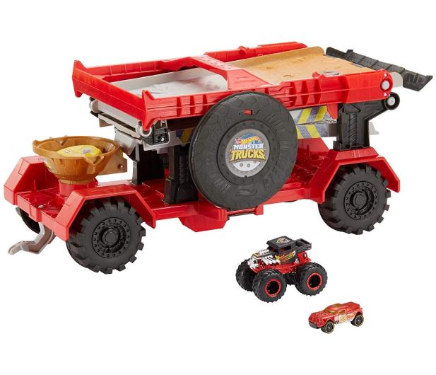 Hot Wheels Monster Truck Meganaczepa z Rampą 2w1 - 488509 - zdjęcie 3