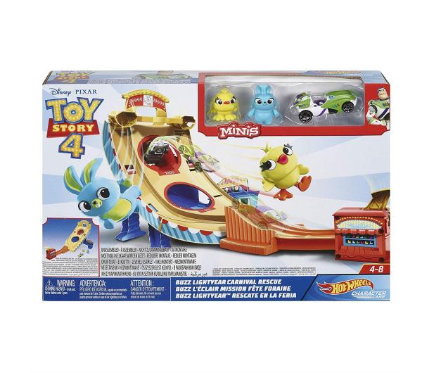 Hot Wheels Toy Story 4 Zestaw Filmowy - 488504 - zdjęcie 4