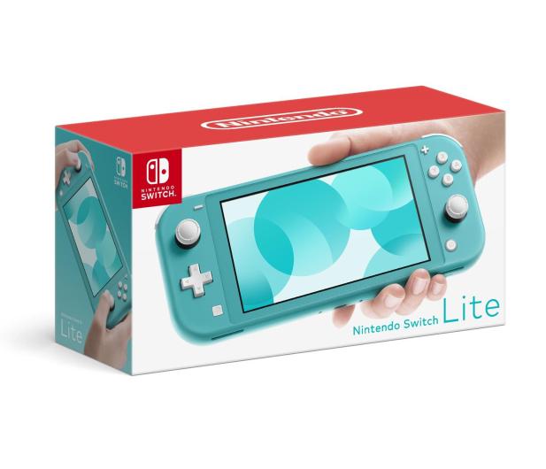 Nintendo Switch Lite (Morski)  - 506184 - zdjęcie 2