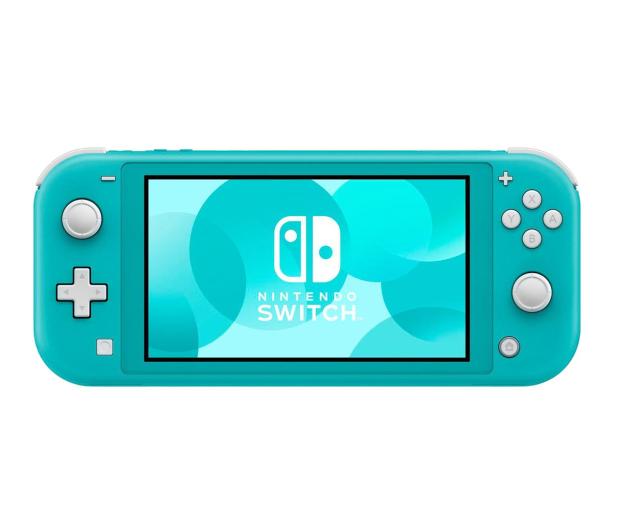 Nintendo Switch Lite (Morski) + Etui + Szkło - 520187 - zdjęcie 2
