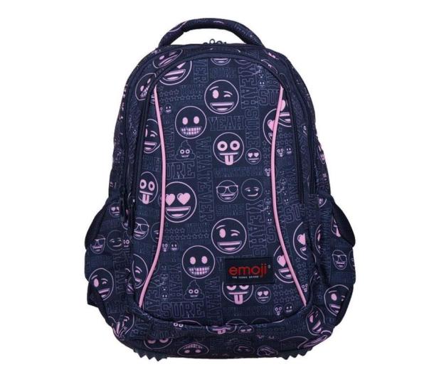 Majewski Emoji Plecak 3-komorowy Pink BP-26 - 506406 - zdjęcie