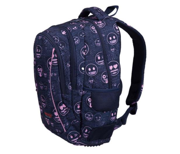 Majewski Emoji Plecak 3-komorowy Pink BP-26 - 506406 - zdjęcie 2