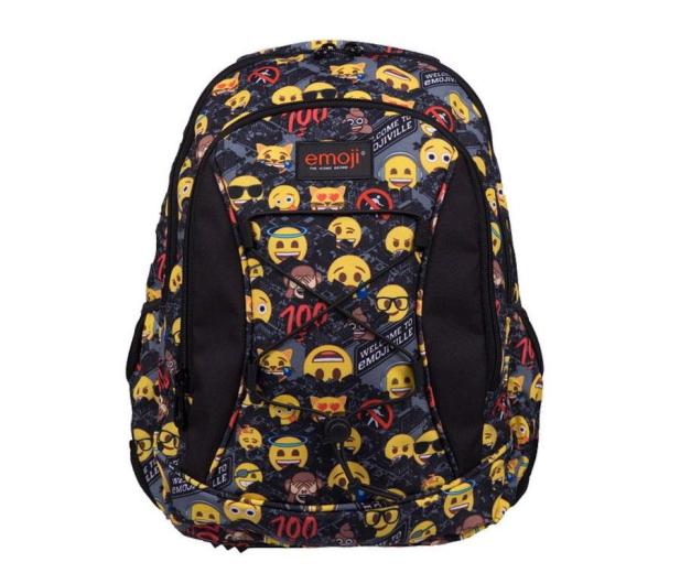 Majewski Emoji Plecak 3-komorowy Yellow II BP-32 - 506405 - zdjęcie