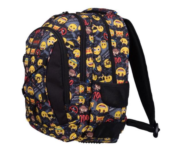 Majewski Emoji Plecak 3-komorowy Yellow II BP-32 - 506405 - zdjęcie 2