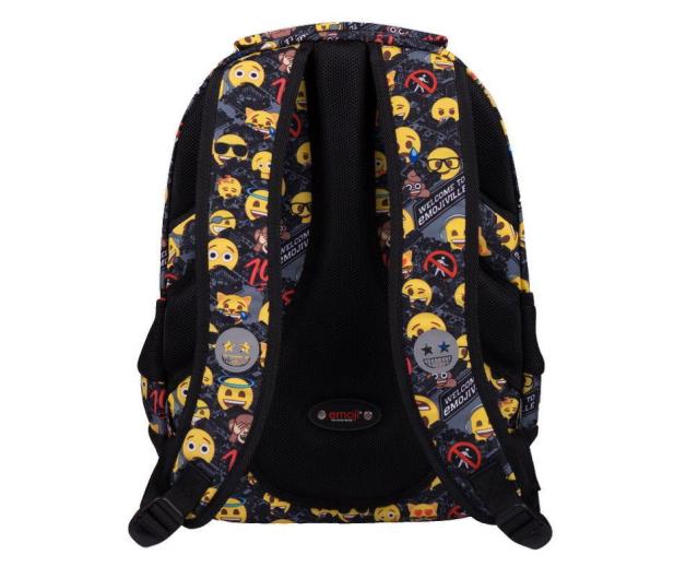 Majewski Emoji Plecak 3-komorowy Yellow II BP-32 - 506405 - zdjęcie 3