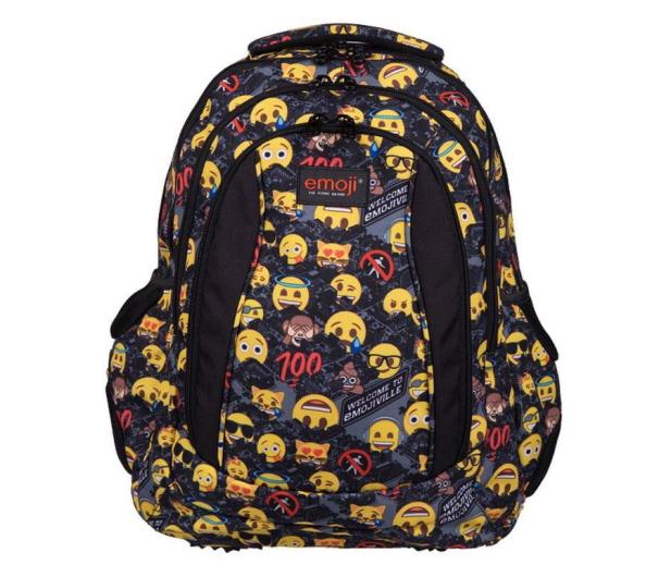 Majewski Emoji Plecak 4-komorowy Yellow II BP-04 - 506401 - zdjęcie