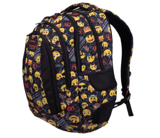 Majewski Emoji Plecak 4-komorowy Yellow II BP-04 - 506401 - zdjęcie 2