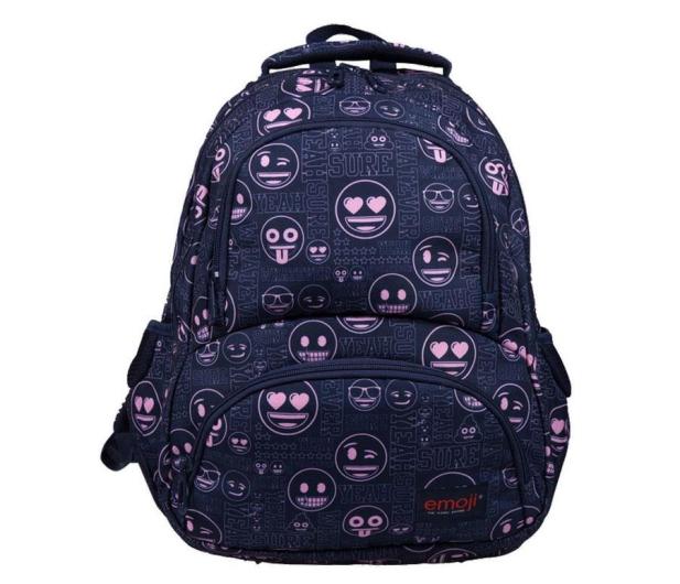 Majewski Emoji Plecak 4-komorowy Pink BP-07 - 506403 - zdjęcie